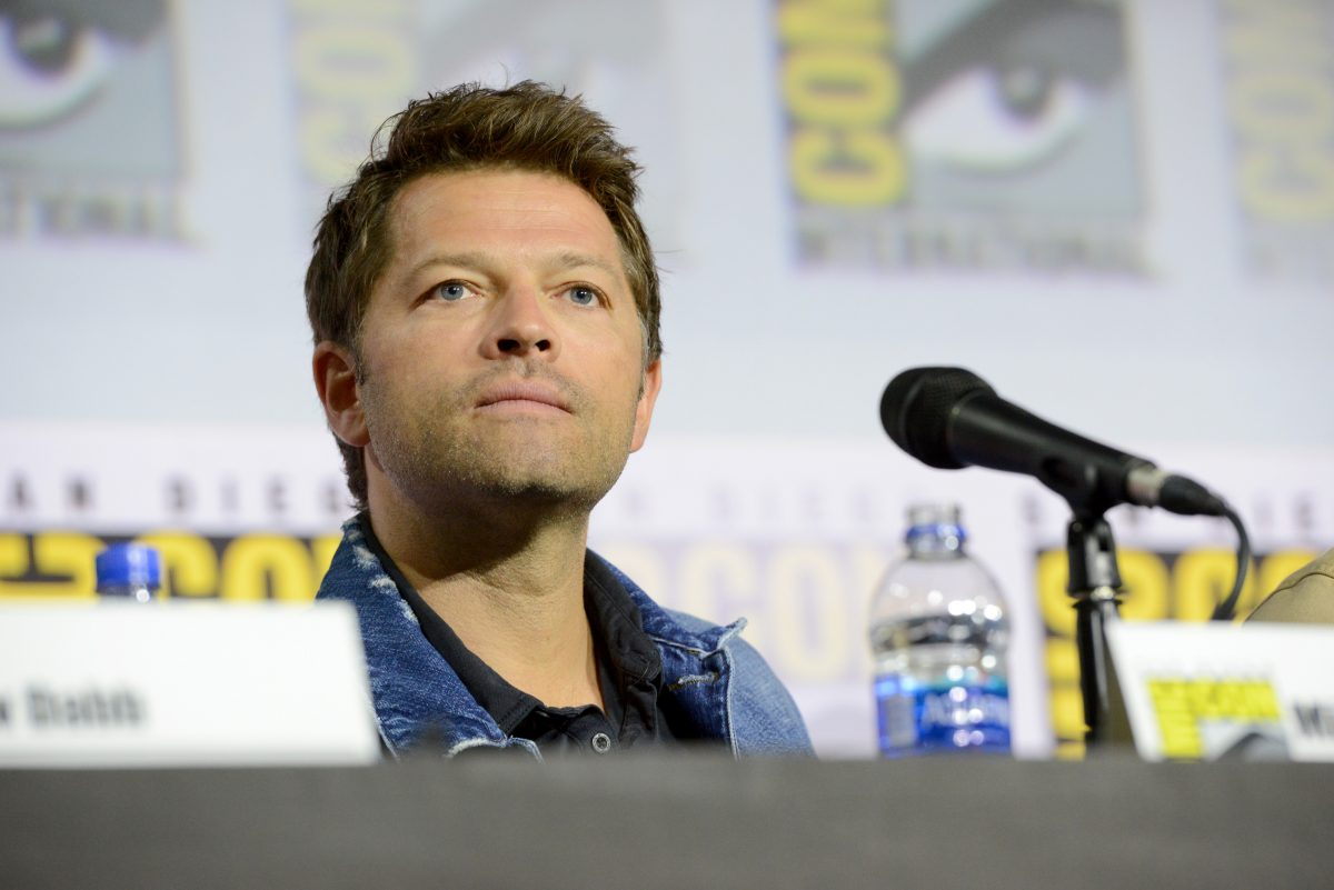Misha Collins Comic-Con