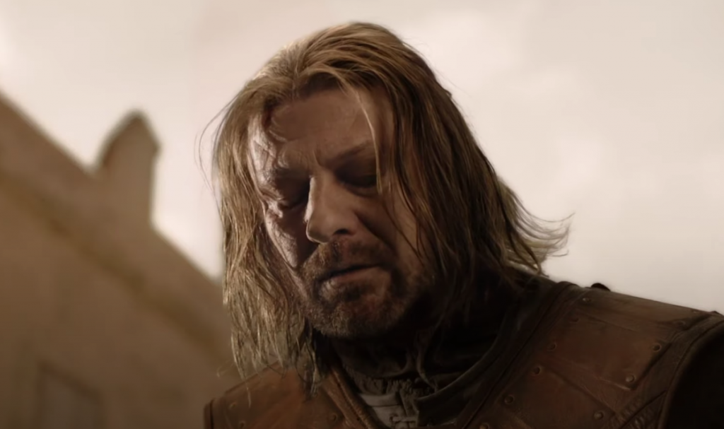 Sean Bean as Ned Stark in HBO's 'Game of Thrones'   YouTube