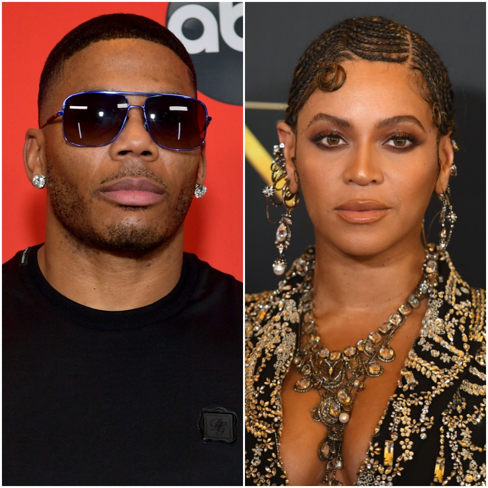 Nelly and Beyoncé