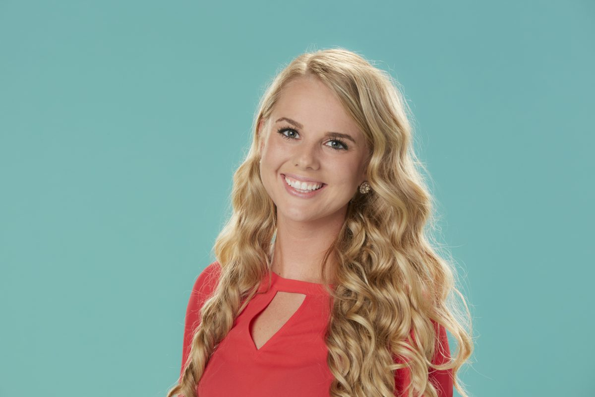 Nicole Franzel of the CBS series 'Big Brother'