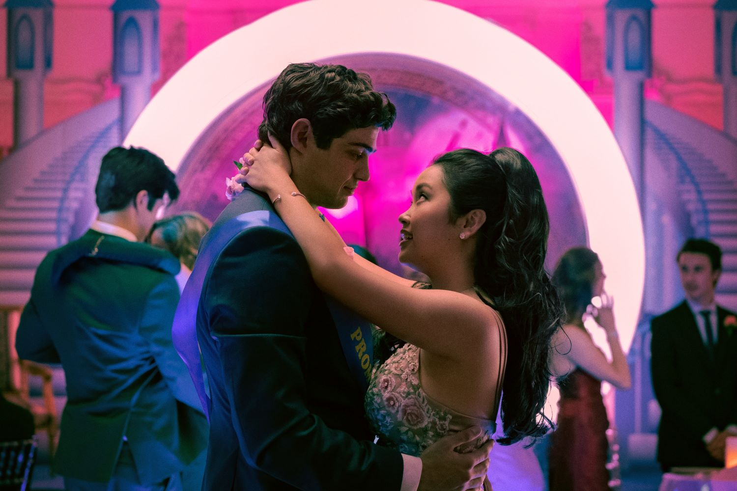 Noah Centineo and Lana Condor in 'To All The Boys I've Ever Loved'