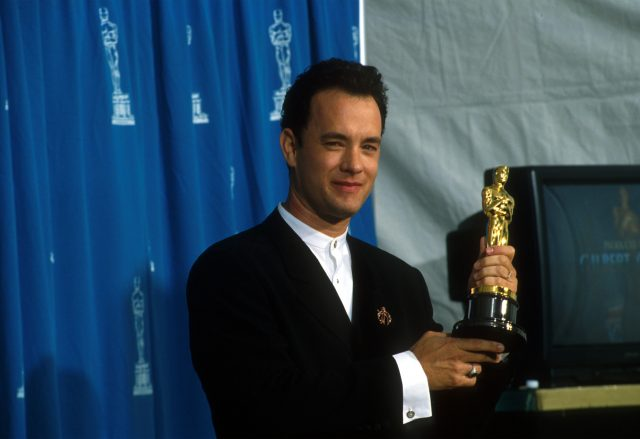 Tom Hanks Once Claimed He Never Voted for Himself at the Oscars