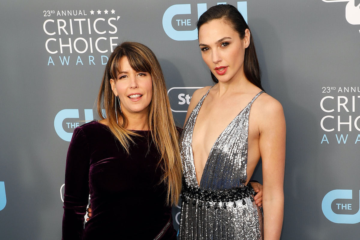 Patty Jenkins and Gal Gadot at the 'I Am The Night' premiere