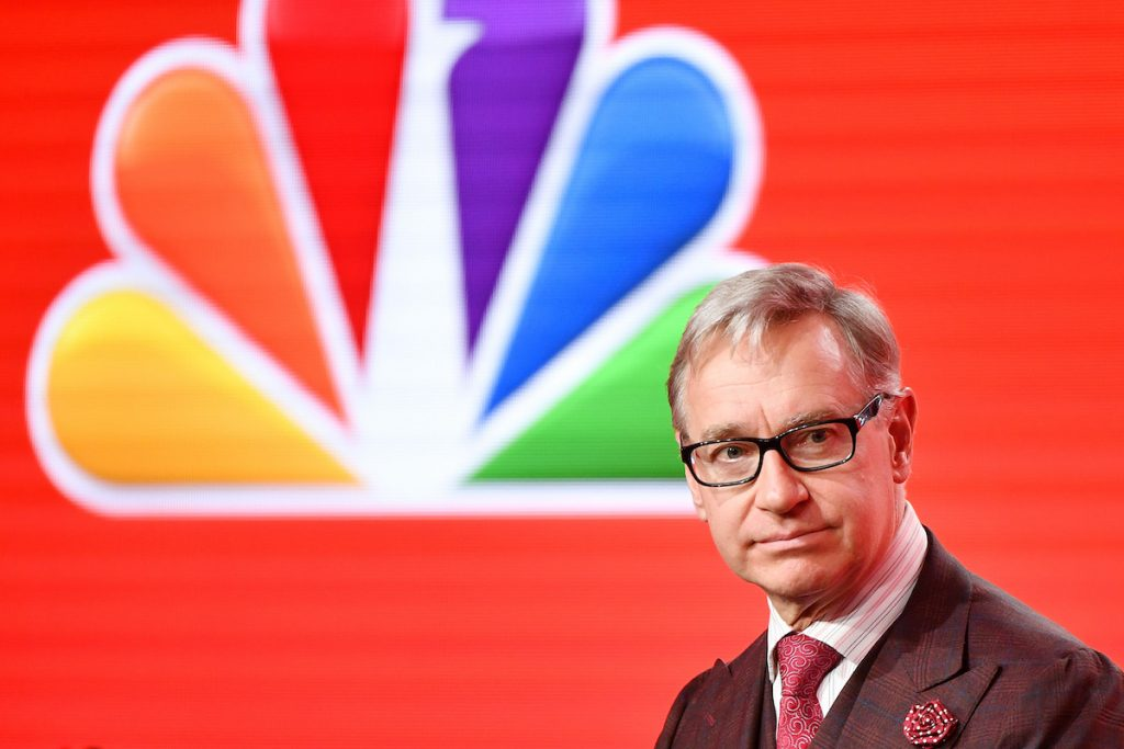 """Executive producer Paul Feig of """"Zoey's Extraordinary Playlist"""" speaks during the NBCUniversal segment of the 2020 Winter TCA Press Tour at The Langham Huntington, Pasadena on January 11, 2020 in Pasadena, California   Amy Sussman/Getty Images"""