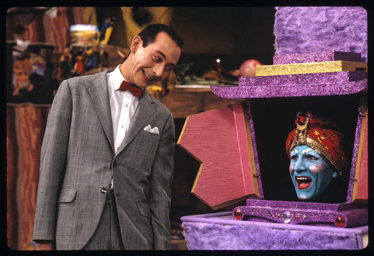 Paul Reubens and John Paragon on 'Pee-wee's Playhouse'