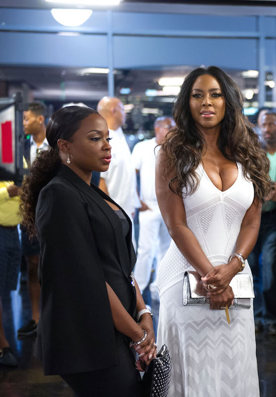 Phaedra Parks and Kenya Moore