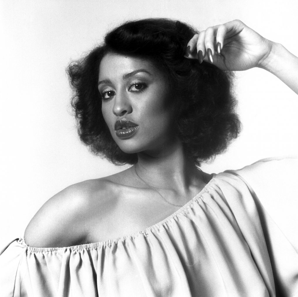 Portrait of American singer and actress Phyllis  Hyman (1949 - 1995), 1980s | Anthony Barboza/Getty Images