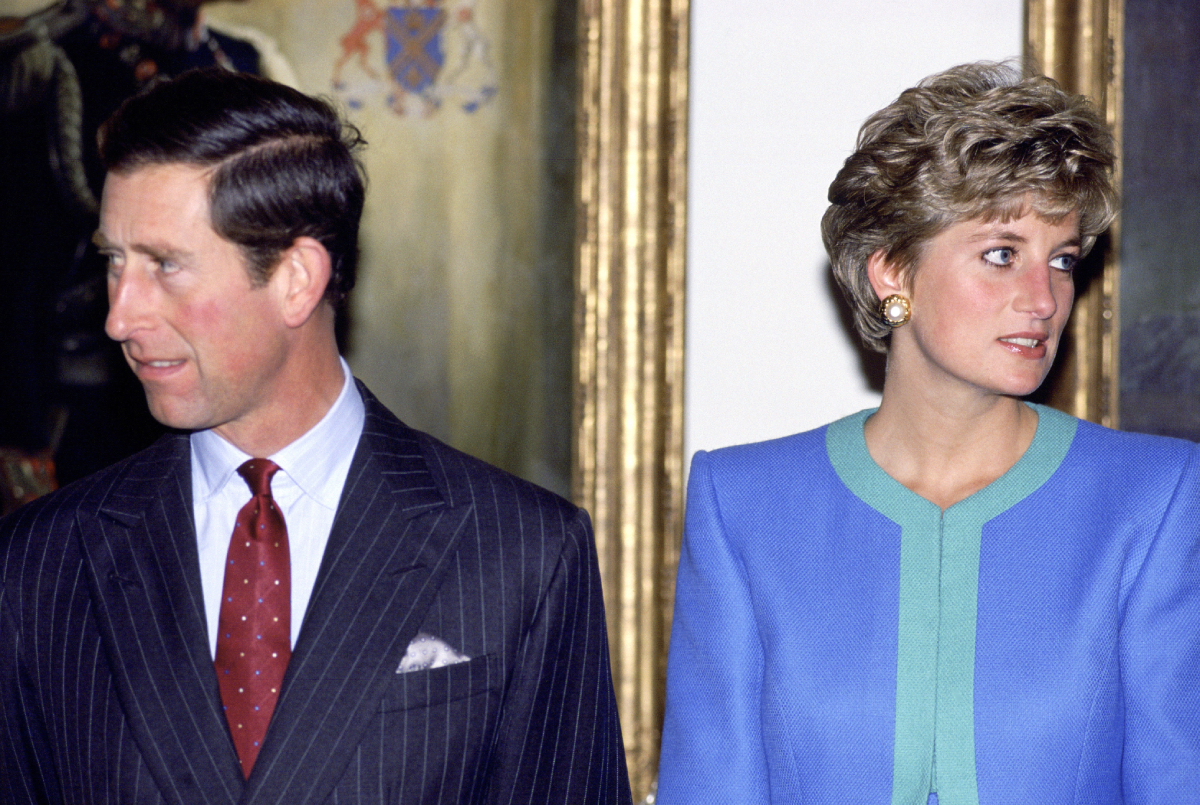 Prince Charles and Princess Diana During A Visit To Ottawa In Canada