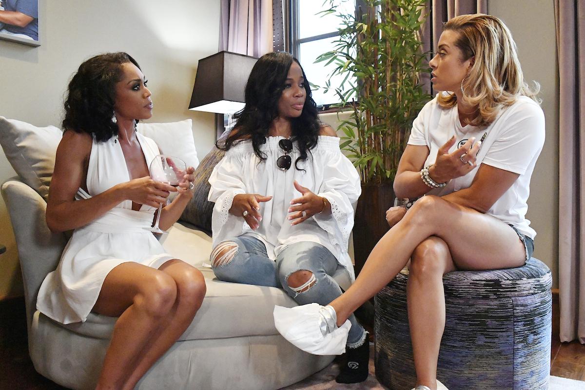 Monique Samuels, Charrisse Jackson-Jordan, Robyn Dixon
