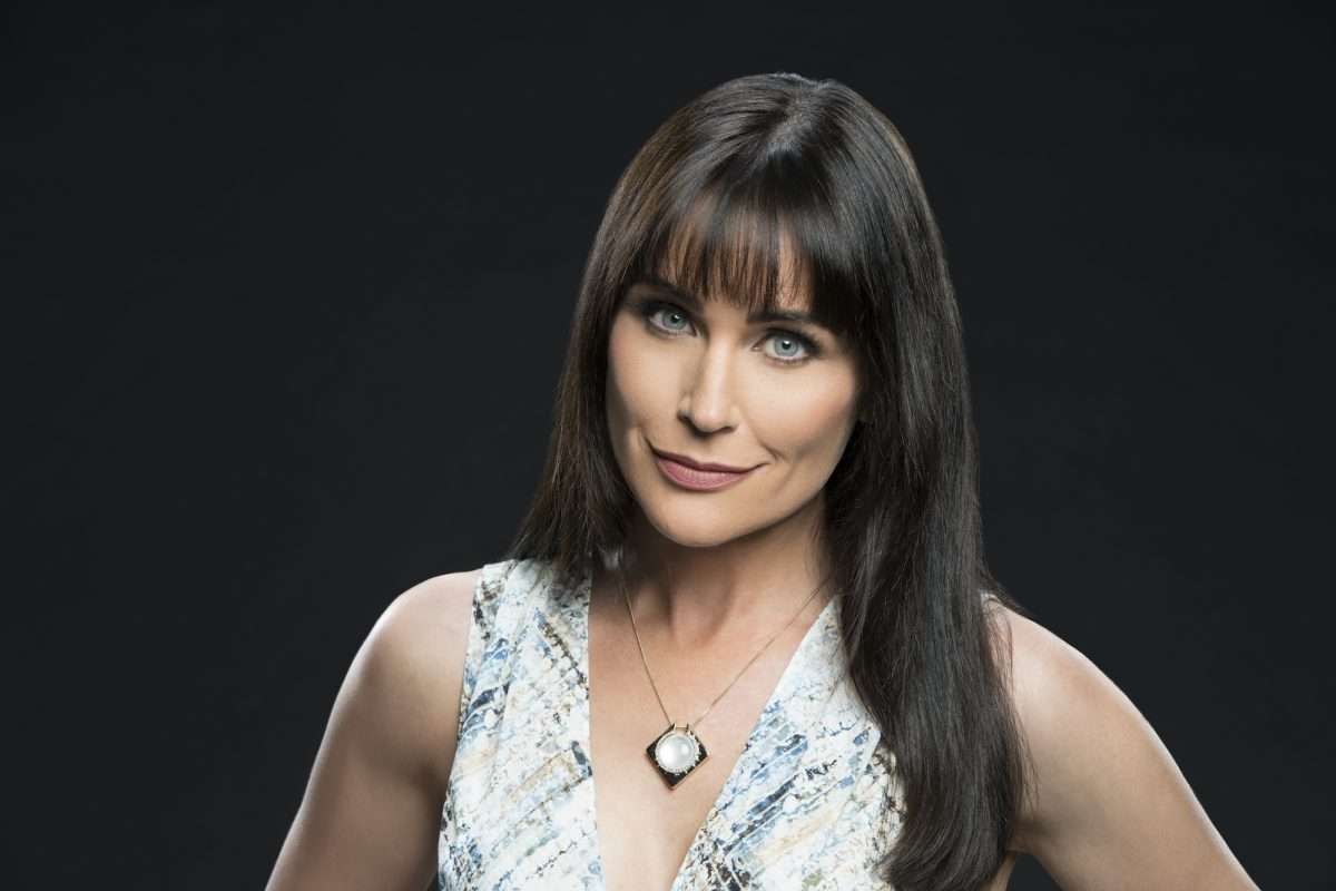 Rena Sofer of the CBS series THE BOLD AND THE BEAUTIFUL
