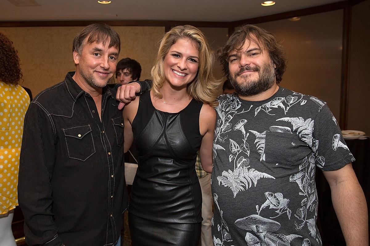 Richard Linklater, Jordan-Claire Green, and Jack Black