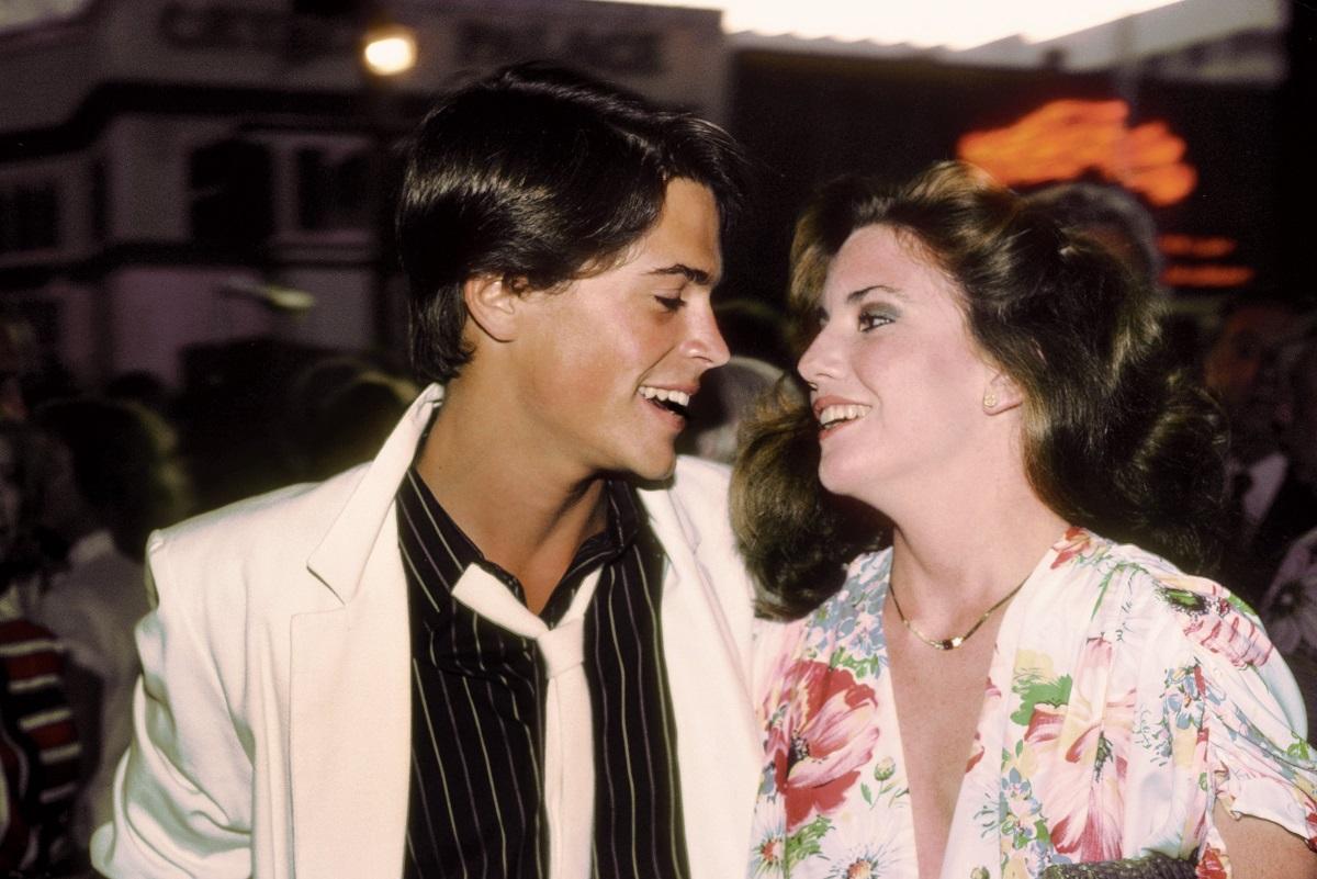 Rob Lowe and Melissa Gilbert