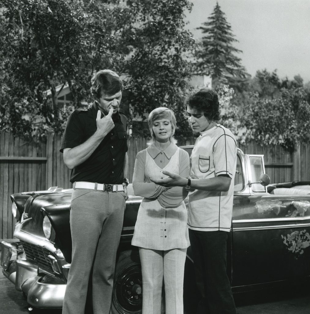 Robert Reed, Florence Henderson, and Barry Williams of 'The Brady Bunch'