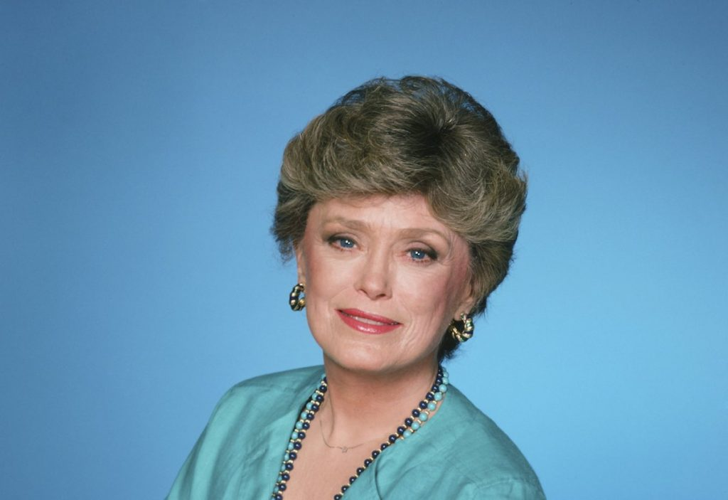 Rue McClanahan as Blanche Devereaux on 'The Golden Girls.'