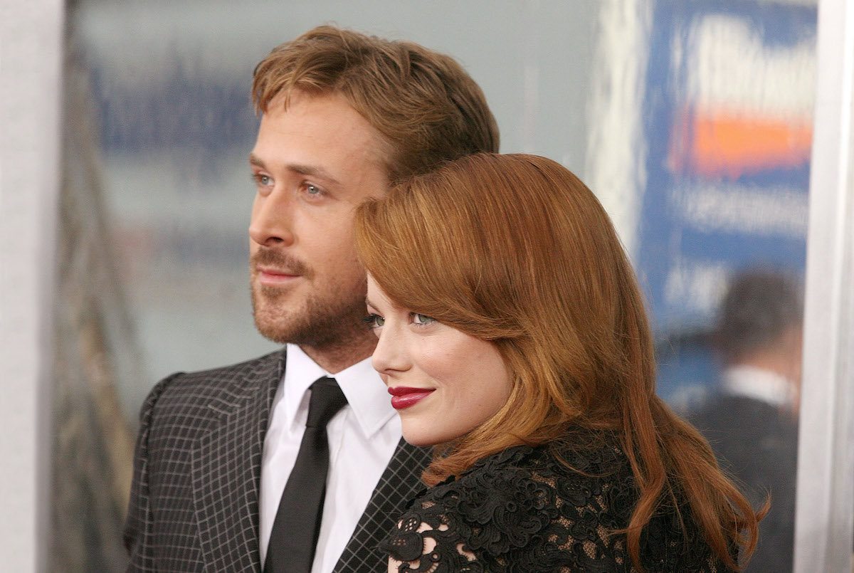 Ryan Gosling and Emma Stone at the 'Crazy, Stupid, Love.' premiere