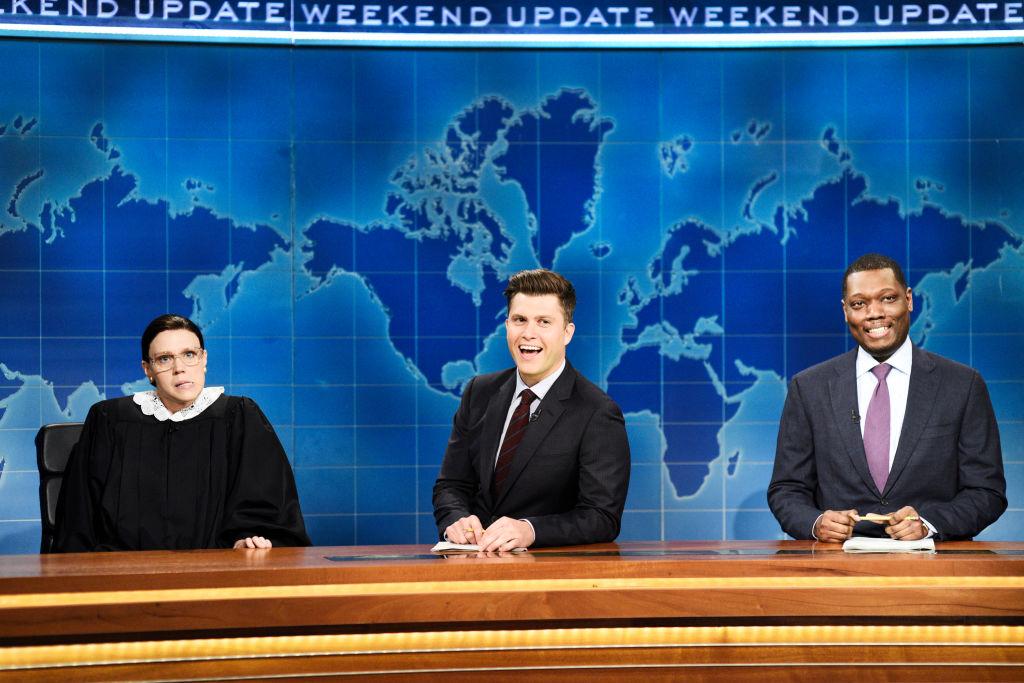 Saturday Night Live Weekend Update cast