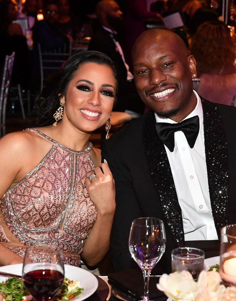 Samantha Gibson and Tyrese