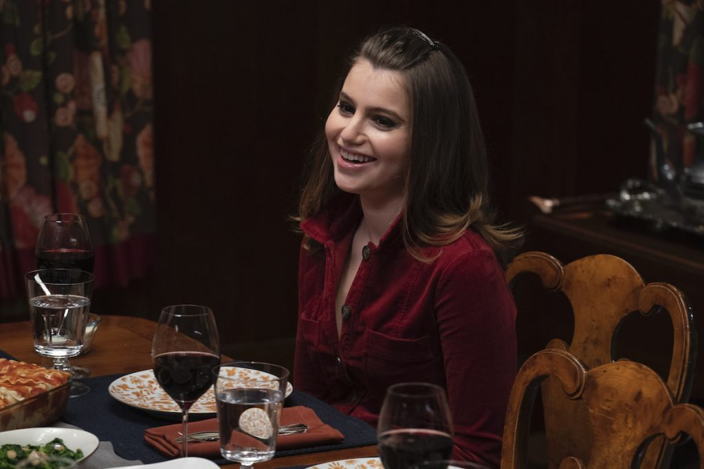 'Blue Bloods': Something Gross Happened to Sami Gayle's Food in the First Family Dinner Scene