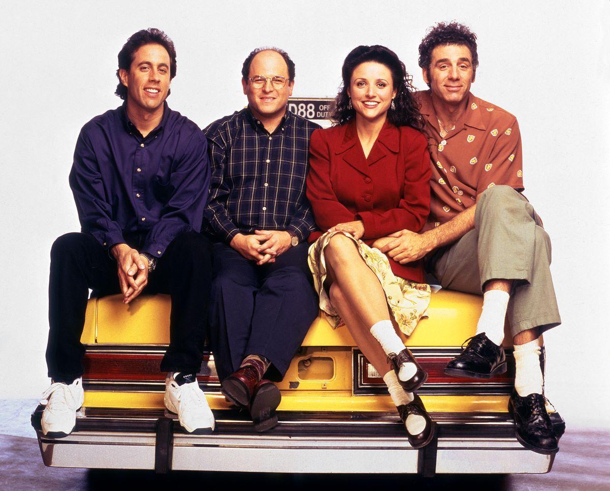 Seinfeld cast.