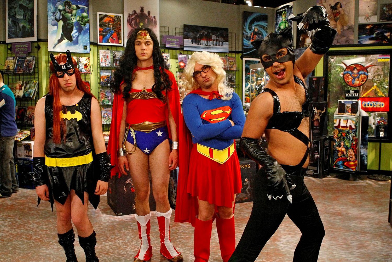 Simon Helberg, Jim Parsons, Johnny Galecki, and Kunal Nayyar in 'The Big Bang Theory'
