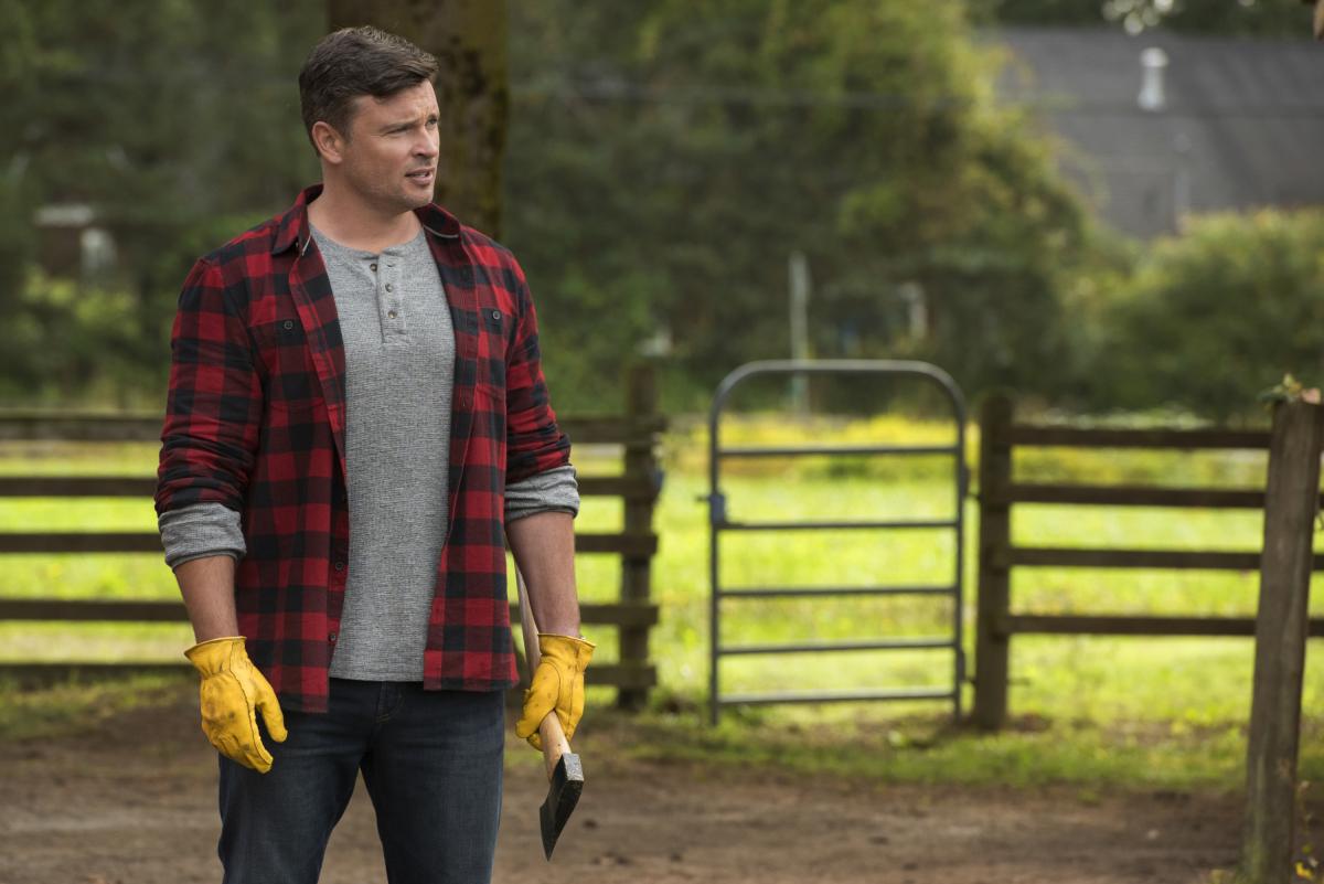 Smallville star Tom Welling