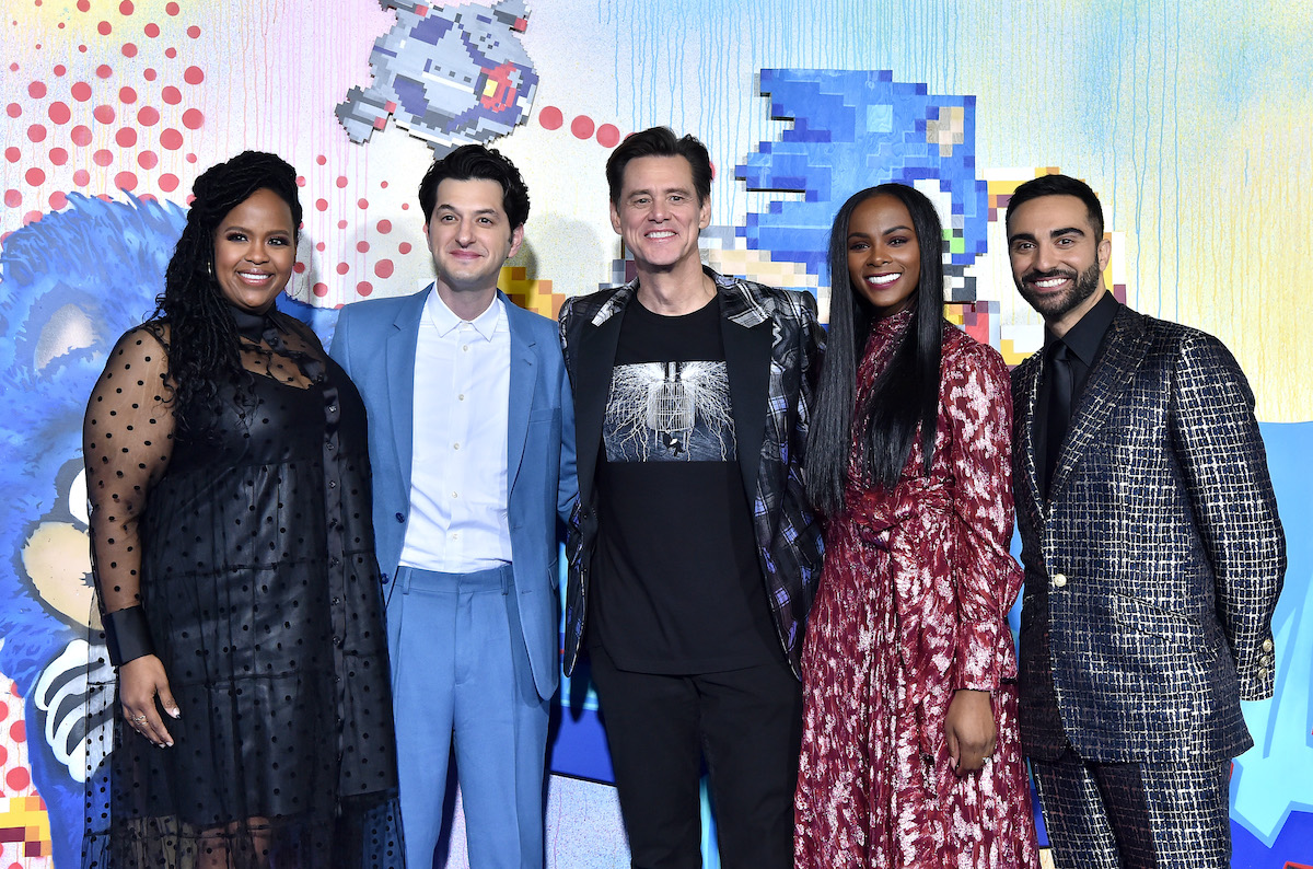 'Sonic the Hedgehog' stars Natasha Rothwell, Ben Schwartz, Jim Carrey, Tika Sumpter, and Lee Majdoub