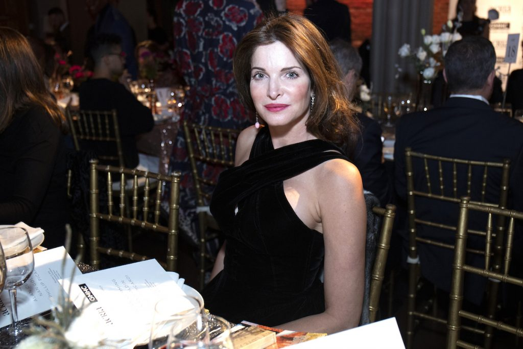 Stephanie Seymour Brant attends the 2018 ACRIA Holiday Dinner  at The Angel Orensanz Foundation on December 13, 2018 in New York City.
