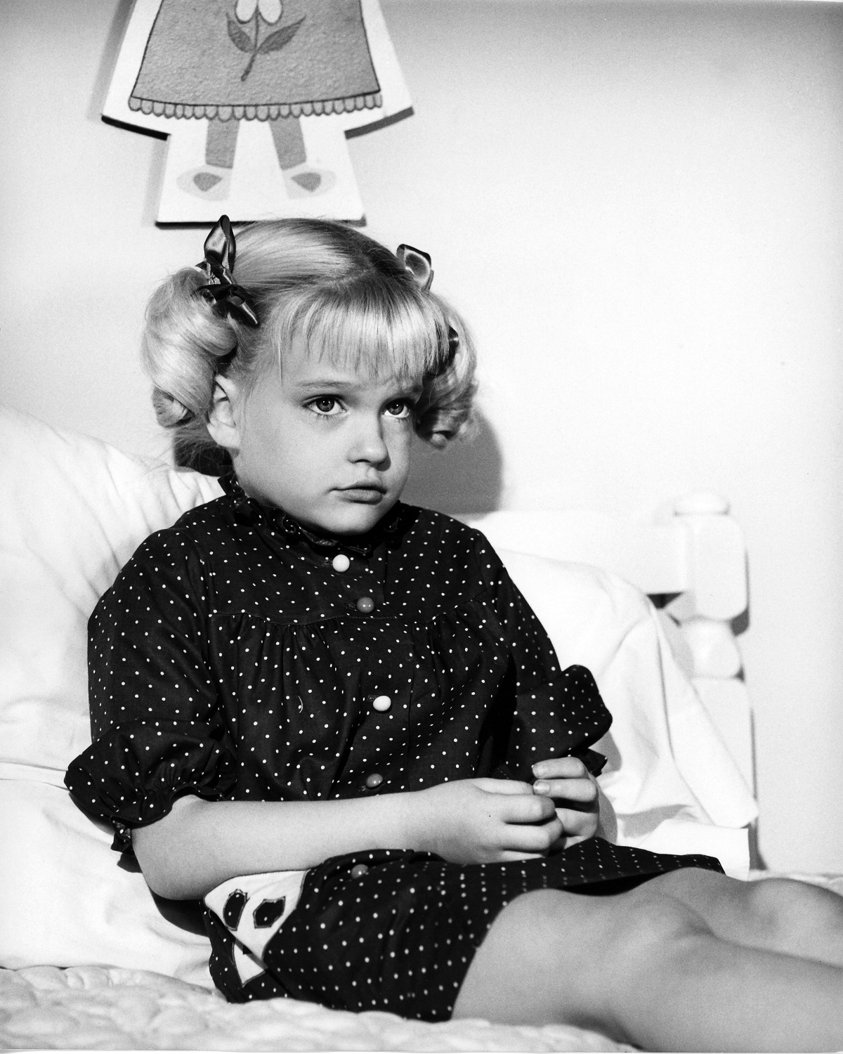 Susan Olsen as Cindy Brady in the 1969 pilot for 'The Brady Bunch'