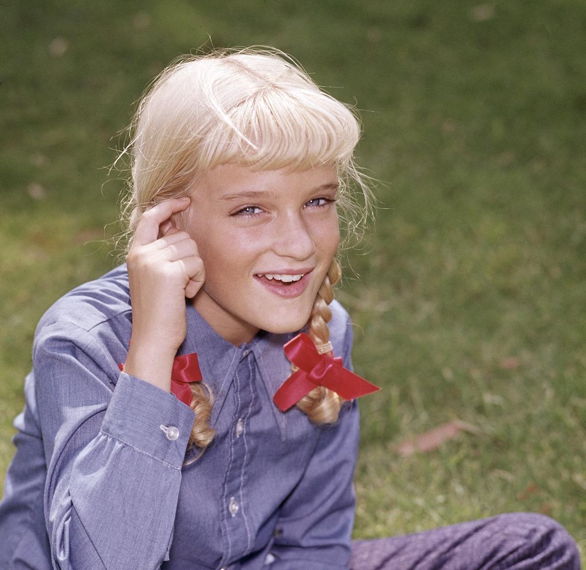 Susan Olsen as Cindy Brady