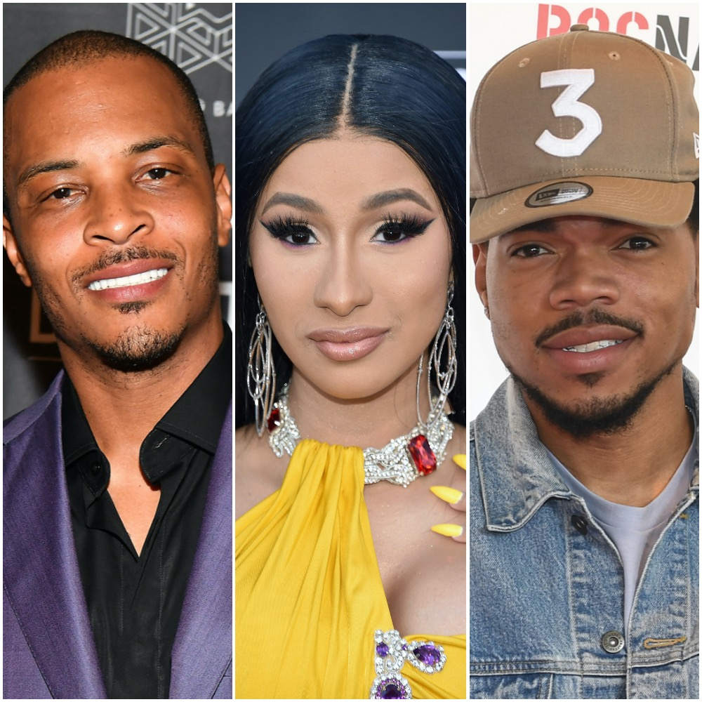T.I., Cardi B, and Chance the Rapper