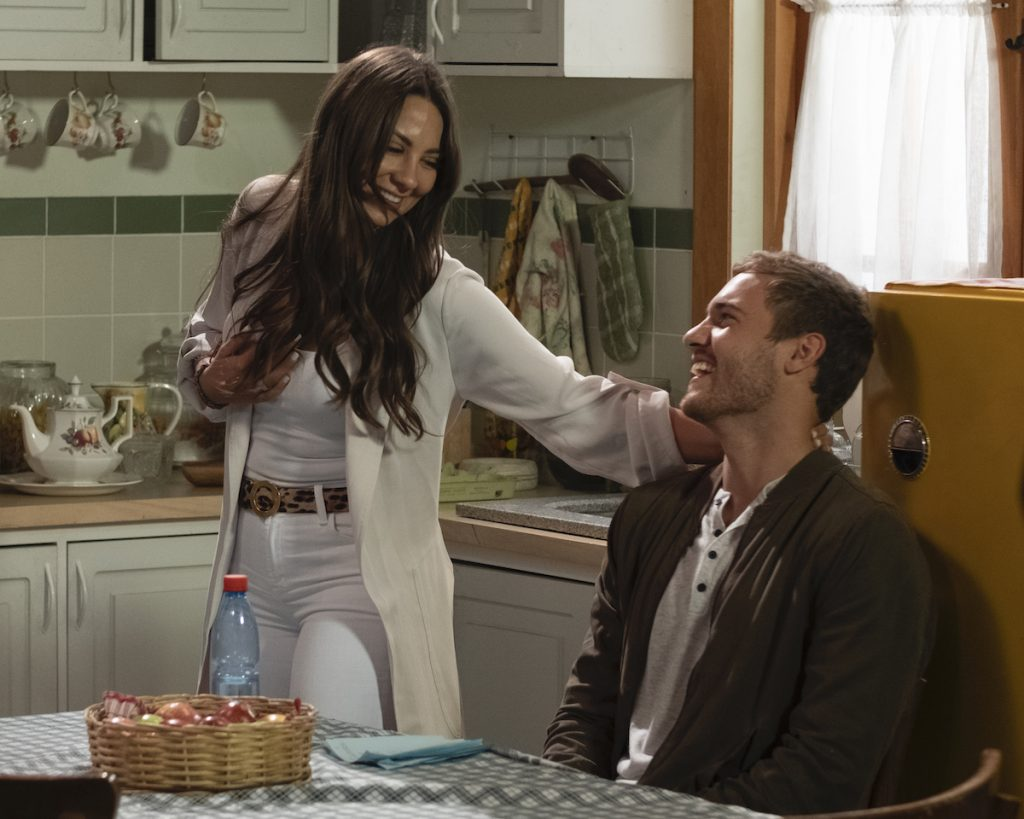 Peter Weber and Kelley Flanagan in 'The Bachelor'