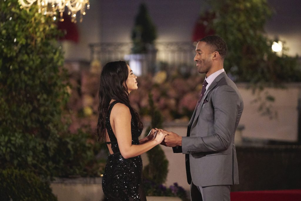Brittany and Matt James on 'The Bachelor'