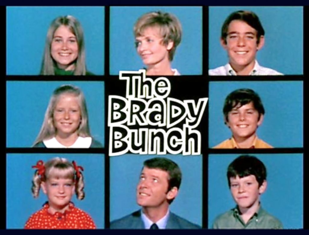 The title sequence of 'The Brady Bunch'