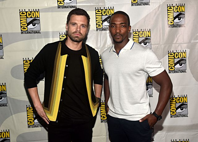 'The Falcon and the Winter Soldier' Photo Has Fans Confused About Cap's Shield