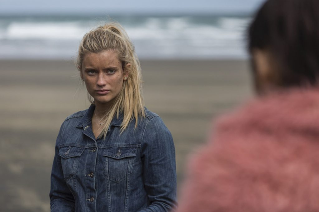 Mia Healey as Shelby in 'The Wilds'