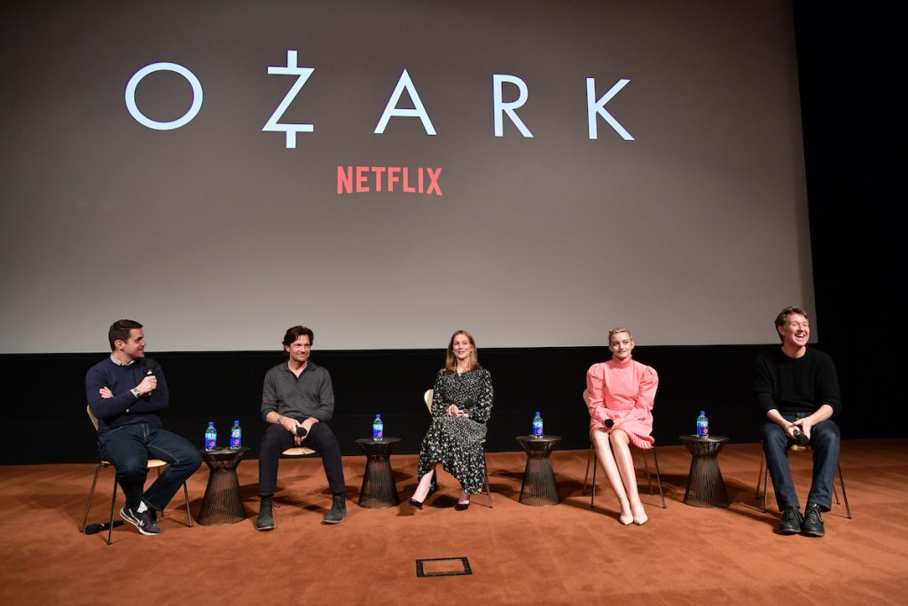 The cast and crew of 'Ozark'