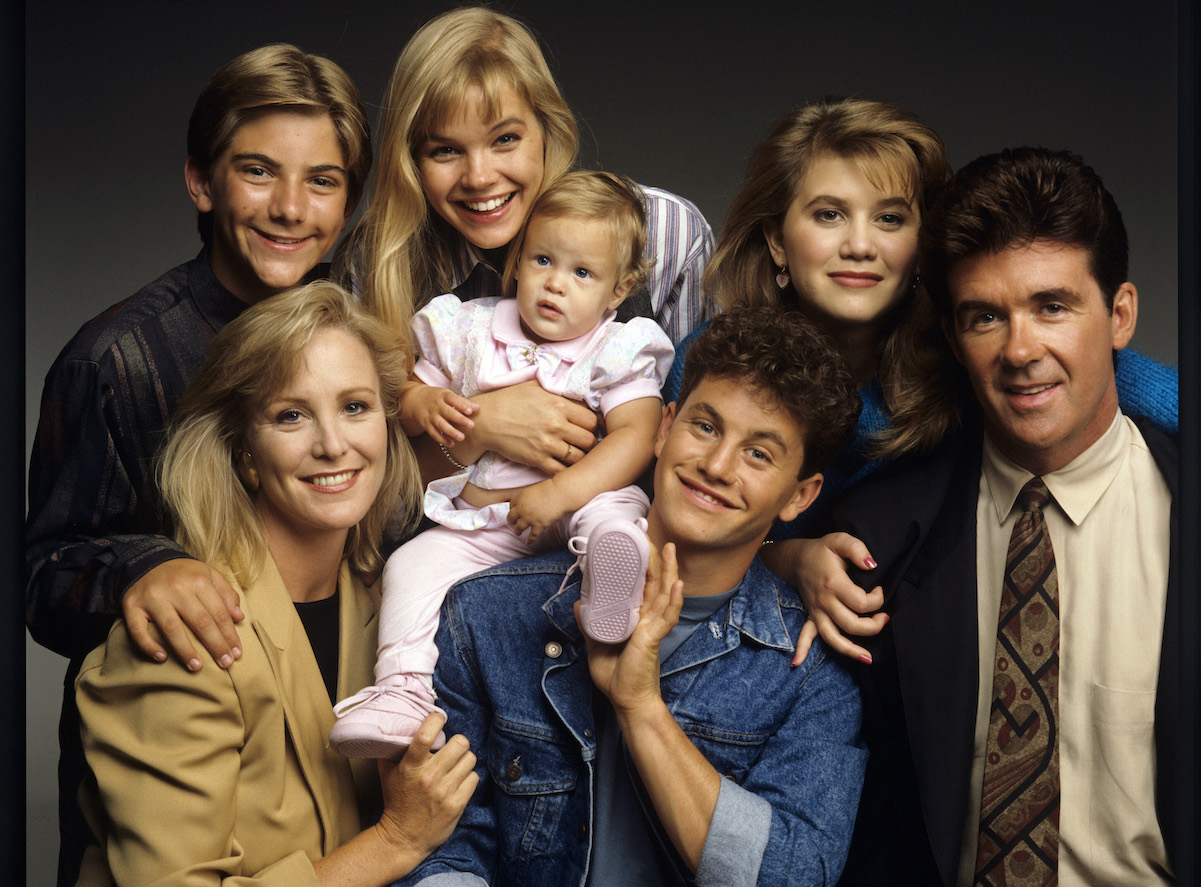The cast of 'Growing Pains'