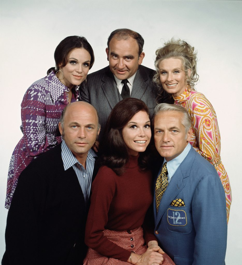 The cast of 'The Mary Tyler Moore Show'