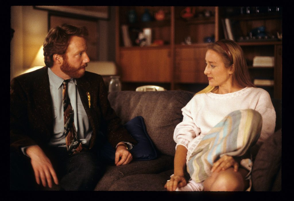 Timothy Busfield and Patricia Wettig of 'Thirtysomething'