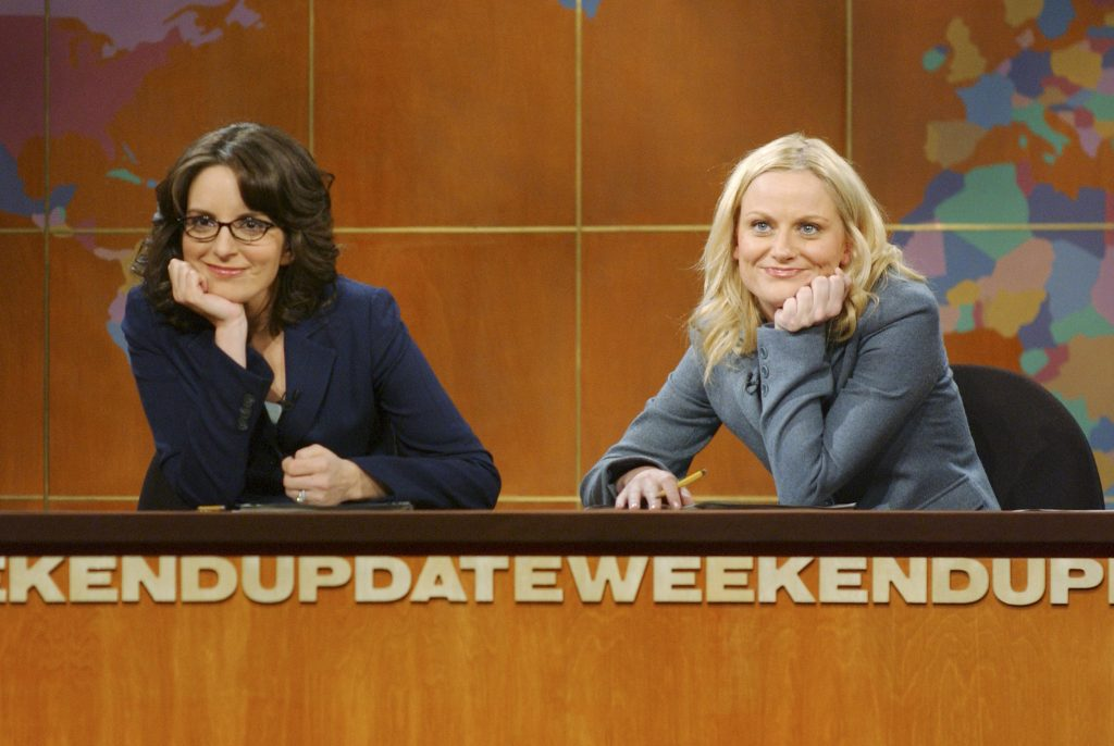 Tina Fey and Amy Poehler of 'Saturday Night Live'