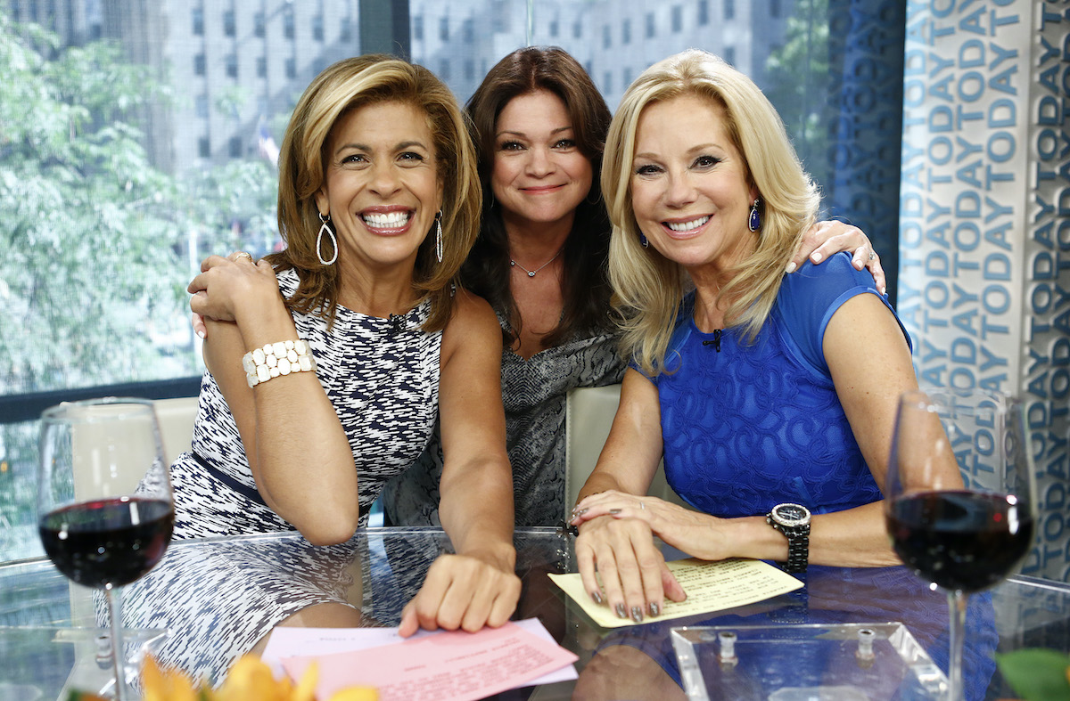 """Hoda Kotb, Valerie Bertinelli, and Kathie Lee Gifford appear on NBC News' """"Today"""" show"""