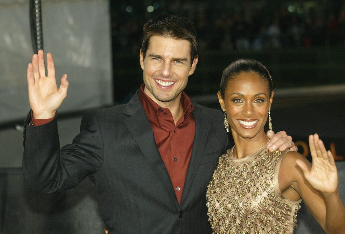 Tom Cruise and Jada Pinkett Smith attend the premiere of 'Collateral' in Berlin, Germany