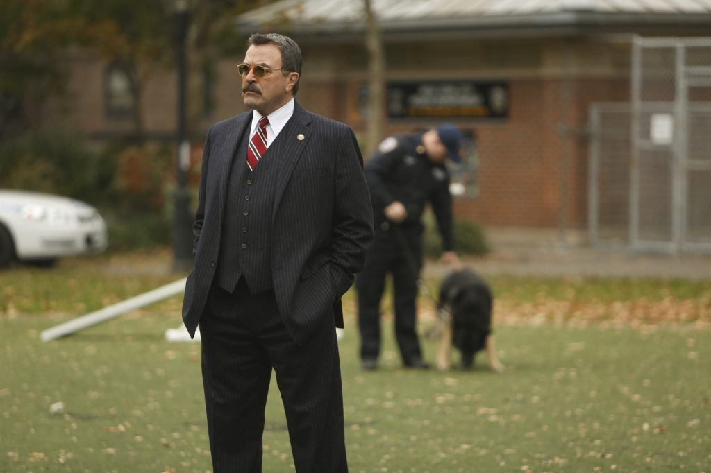 Tom Selleck as Frank Reagan. Will we see a new episode of 'Blue Bloods' this week? | Craig Blankenhorn/CBS via Getty Images