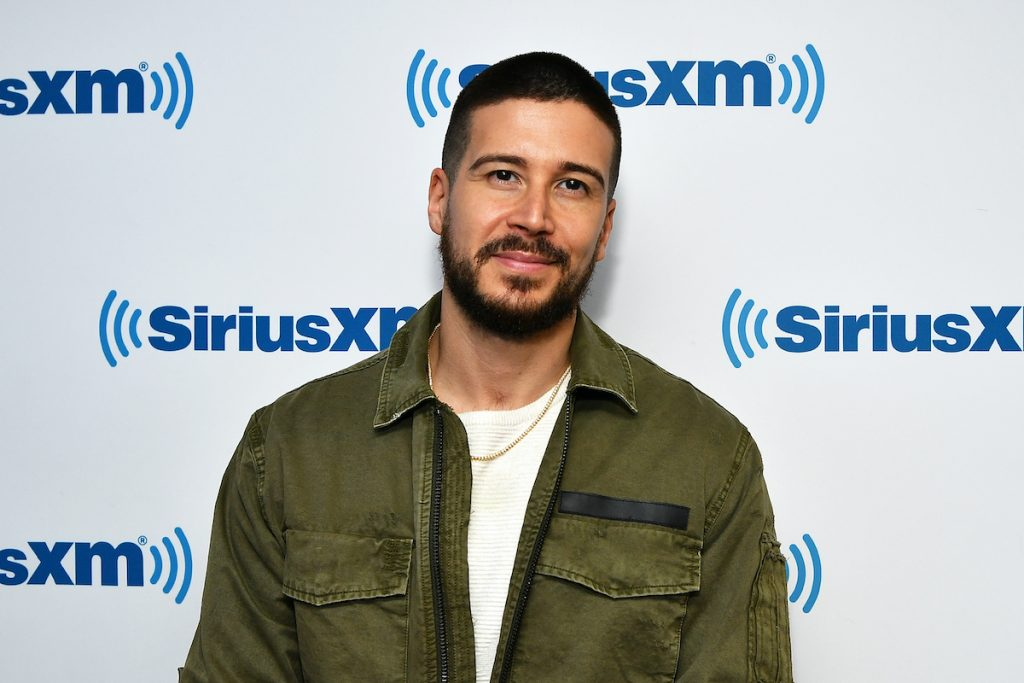 Jersey Shores Vinny Guadagnino Shows Off His Buff Bod at