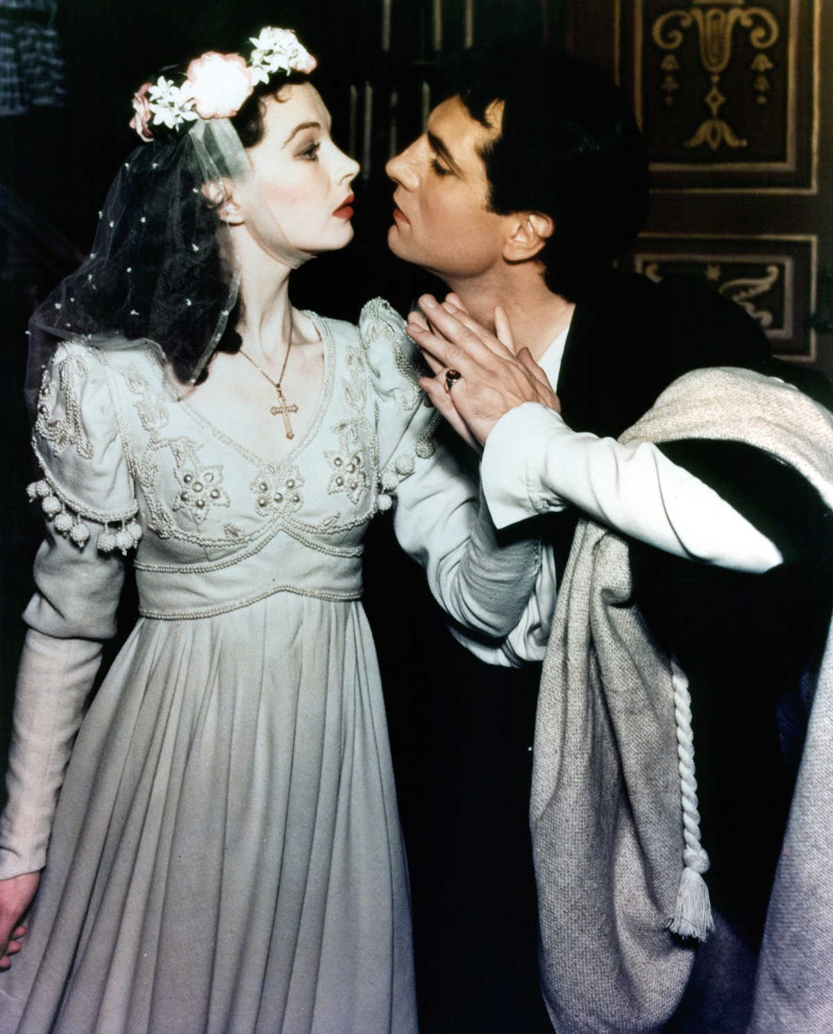 Vivien Leigh and Laurence Olivier in 'Romeo and Juliet'