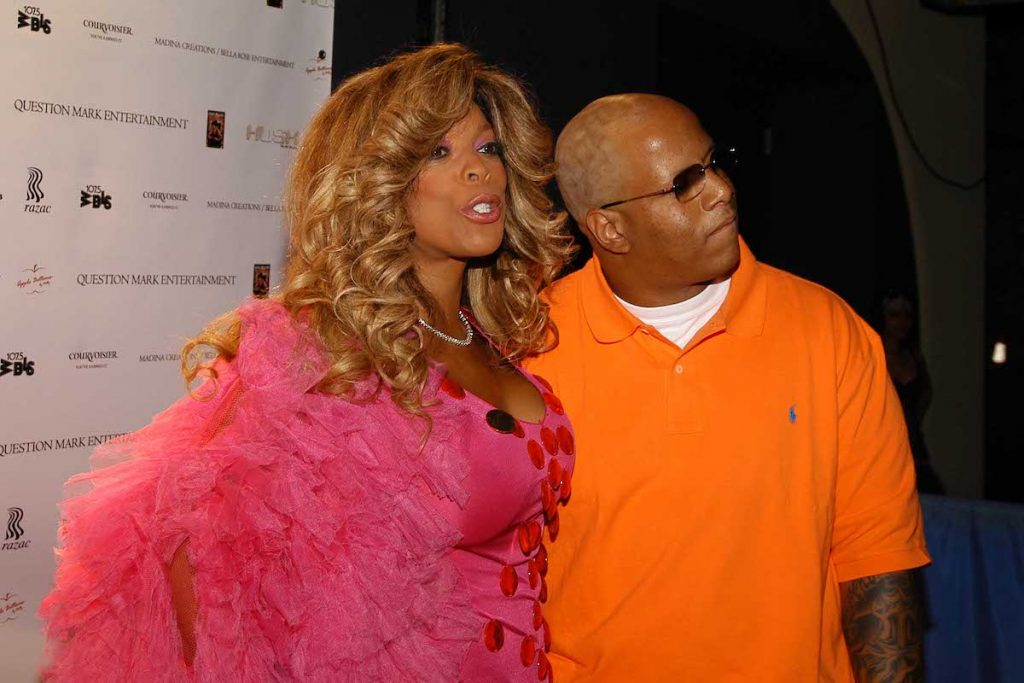 Wendy Williams and Kevin Hunter