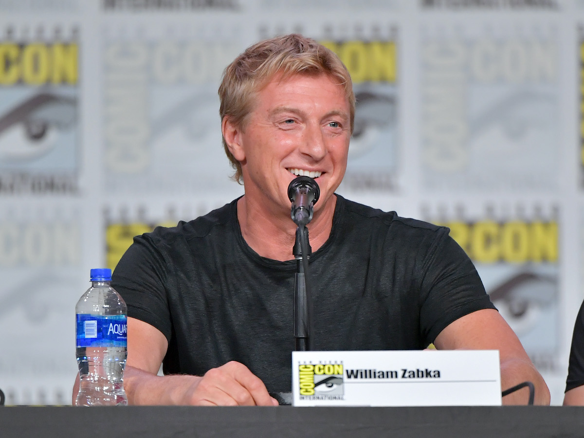 William Zabka onstage at San Diego Convention Center