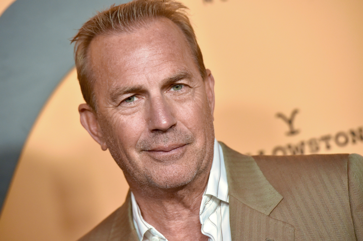 "Kevin Costner attends the premiere party for Paramount Network's ""Yellowstone"" Season 2 at Lombardi House on May 30, 2019"