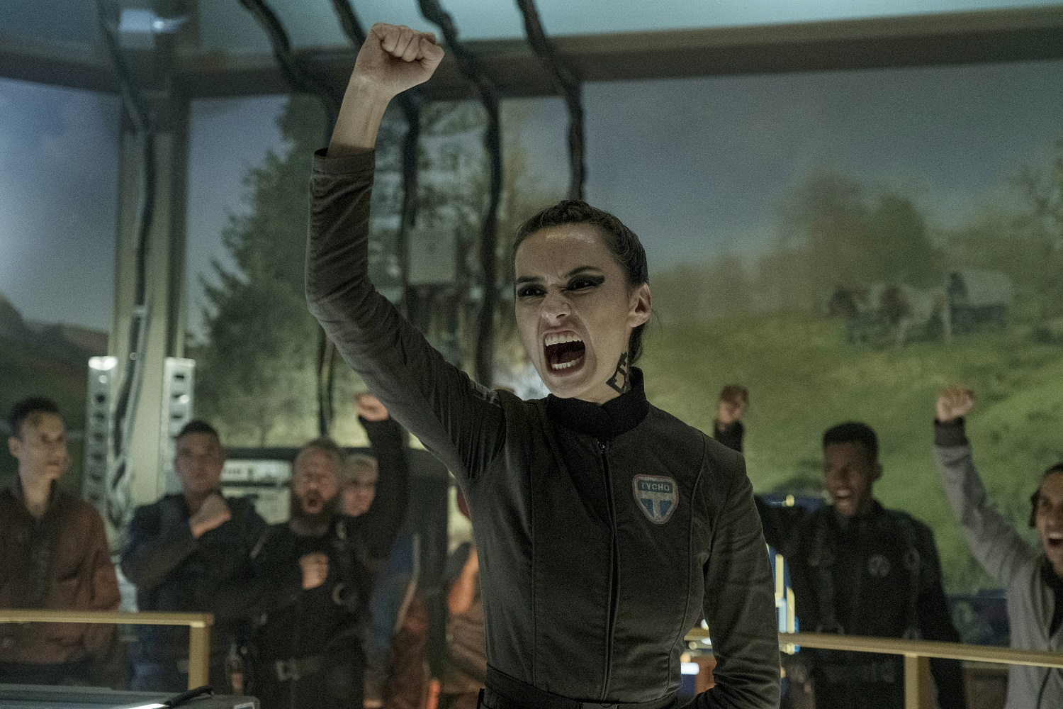 Cara Gee as Camina Drummer on The Expanse
