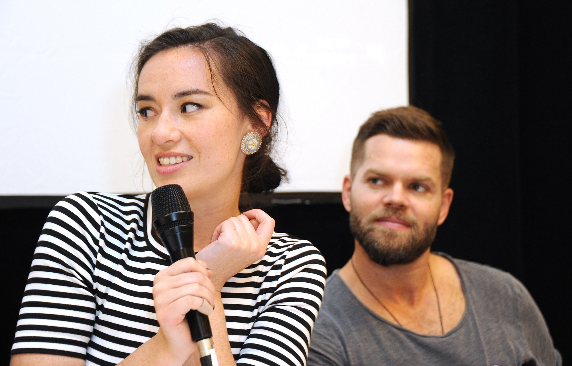Cara Gee and Wes Chatham of The Expanse